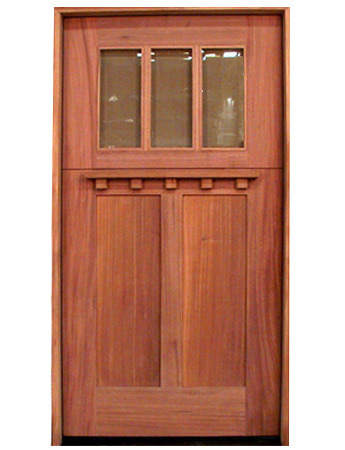 CRAFTSMAN/BUNGALOW DOORS  sc 1 st  Handcrafted Millworks & Door Products | Site Title