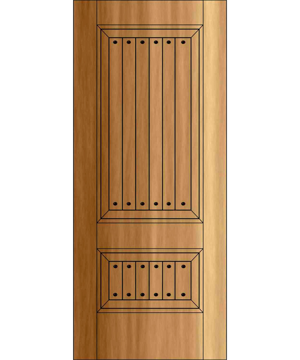 ED1102- Old World Rustic Door Two Panel  sc 1 st  Handcrafted Millworks & Old World Rustic Doors | Site Title pezcame.com